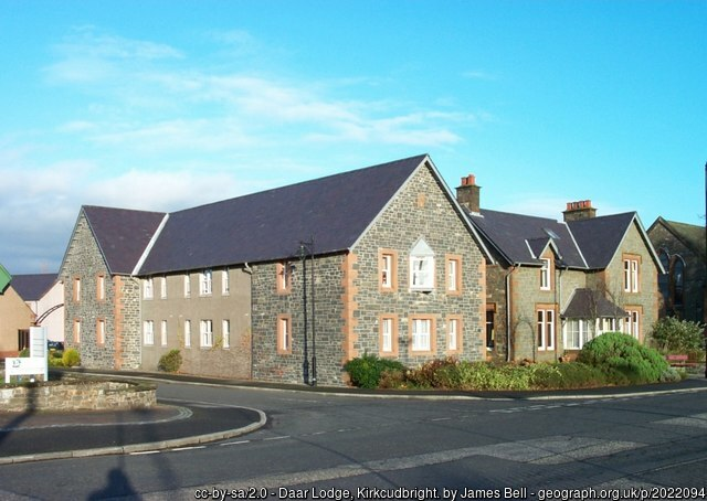 Daar Lodge Kirkcudbright geograph.org.uk