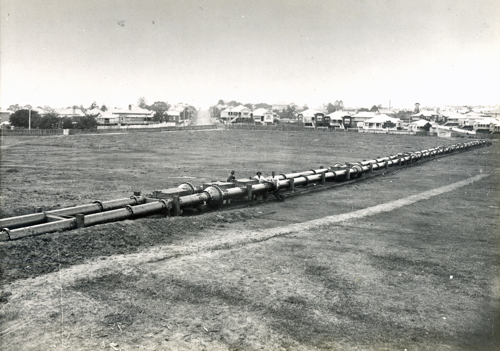 davies park 1912 water mains laid bcc