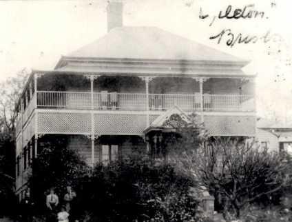 "The Davies' home ""Orleton"" on Granville Street. (ancestrydotcom)"