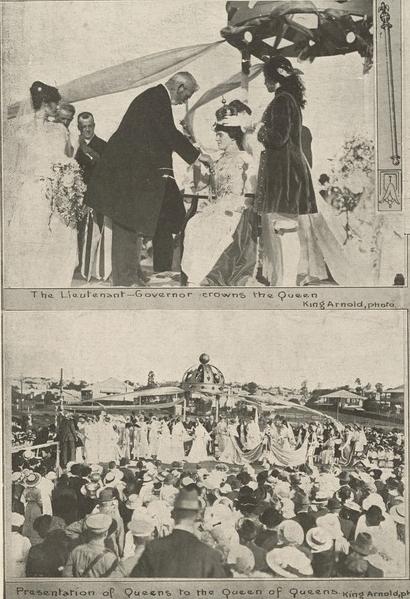 queen carnival qlder oct 2 1915