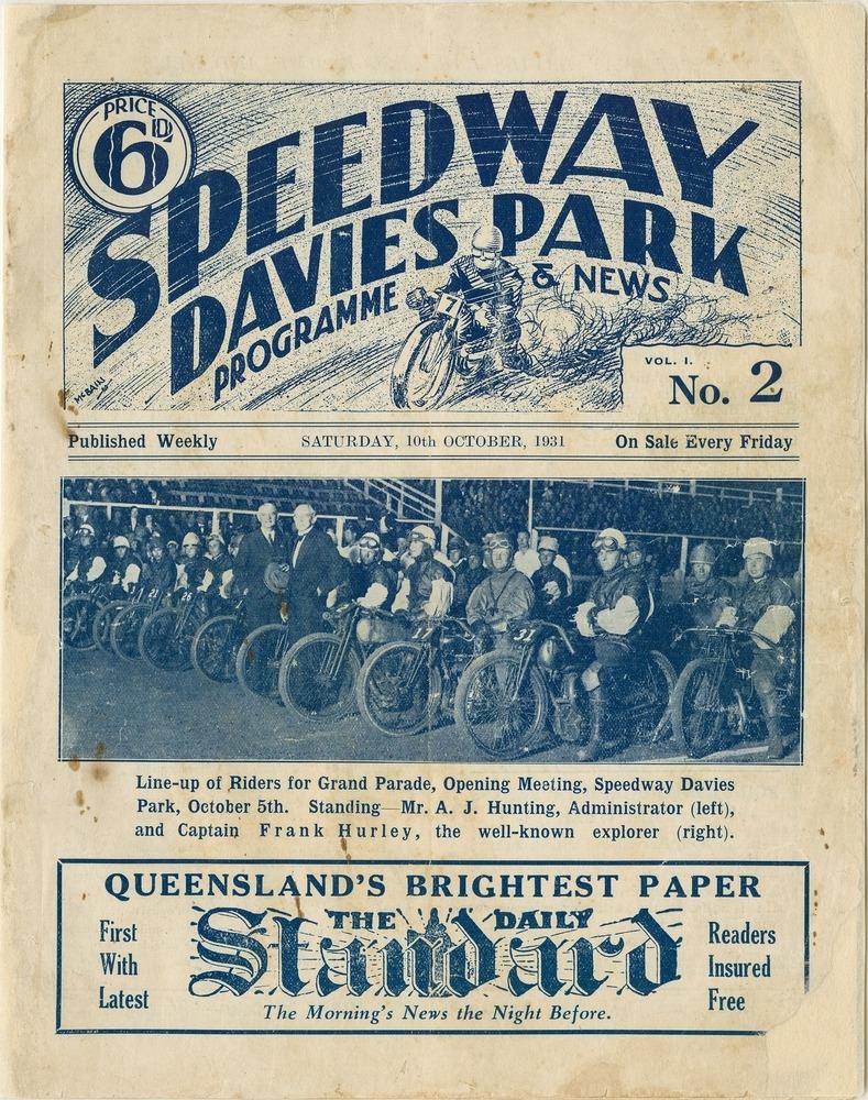 speedway paper