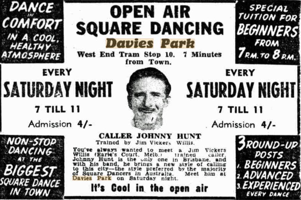 tele 9 oct 1953 davies park square dancing
