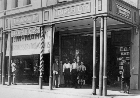 Thomson Brothers and Birch Bookshop, 270 George Street. (State Library of Queensland)