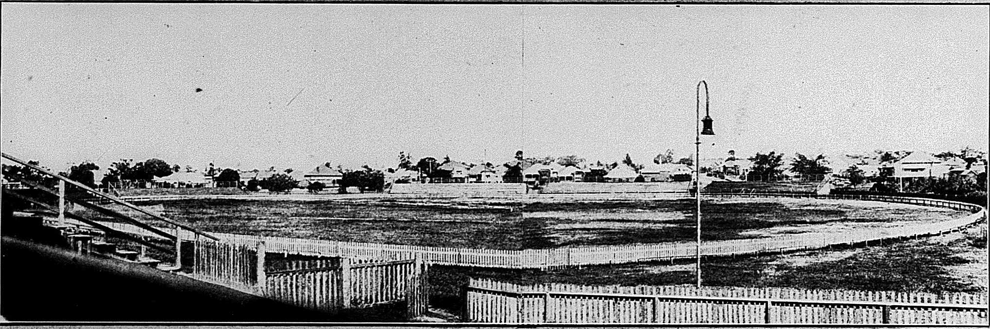 davies park oval from grandstand 1921 qlder