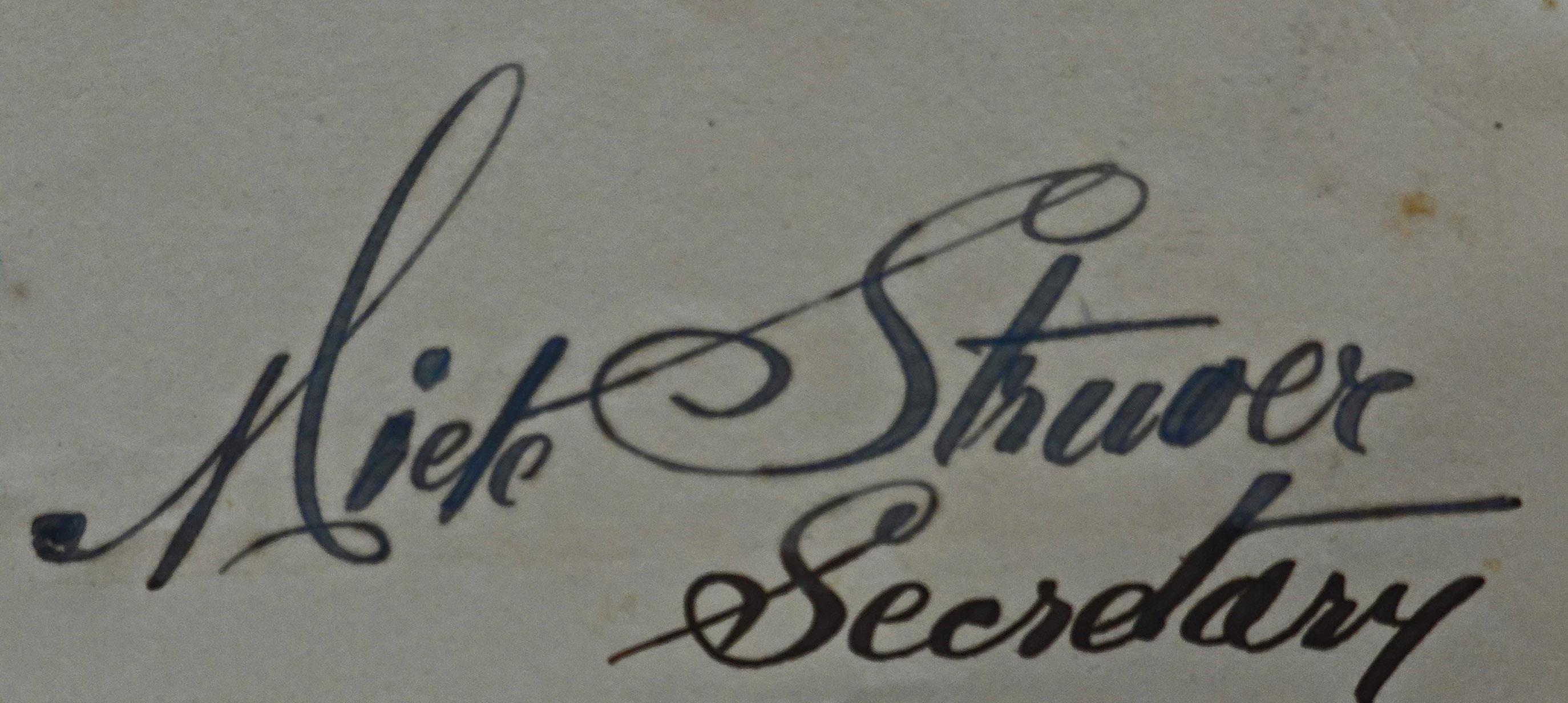 miete struver signature