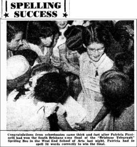Telegraph 6th April 1954. (Trove)