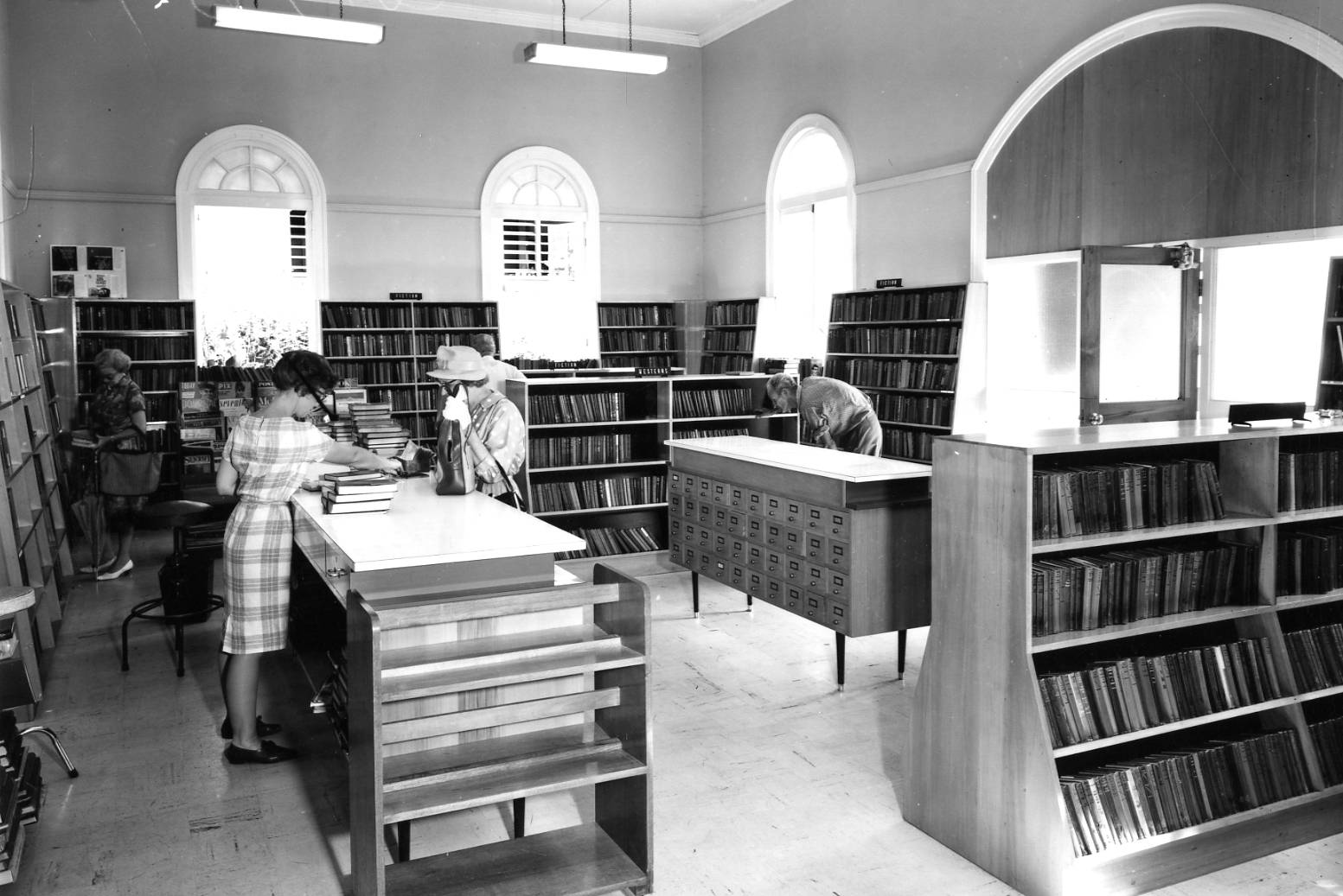 west end library 1964 BCC