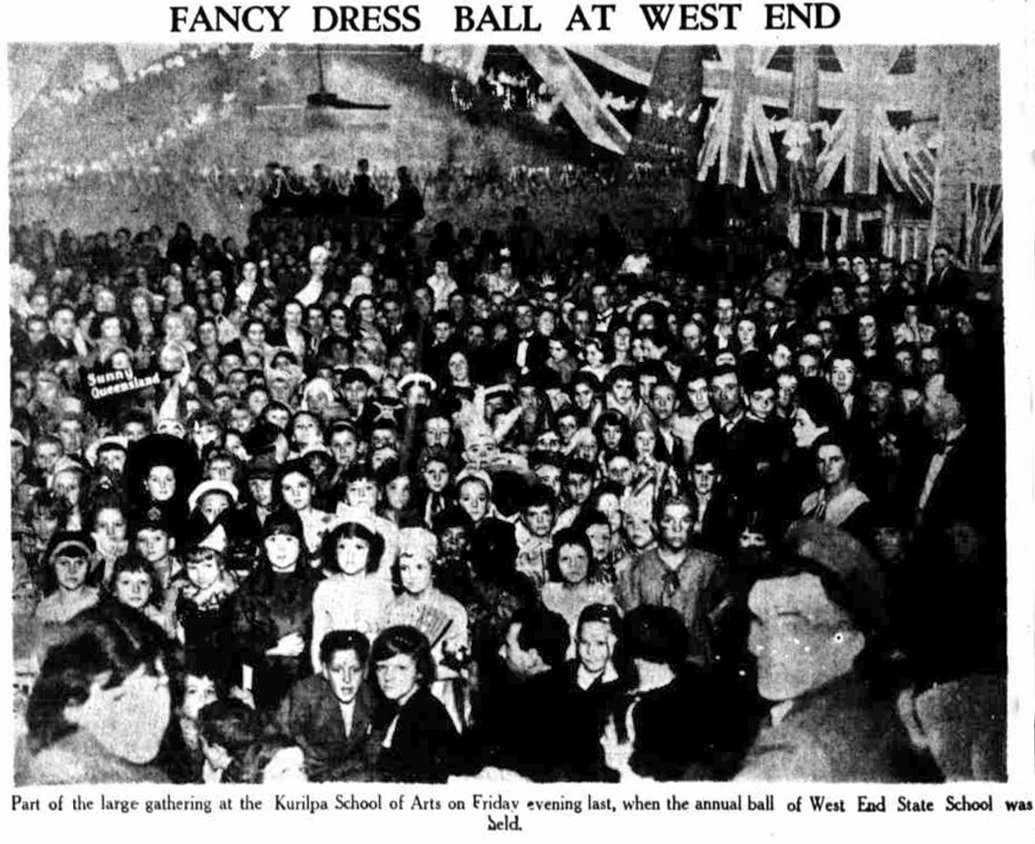 west end ss ball 1935