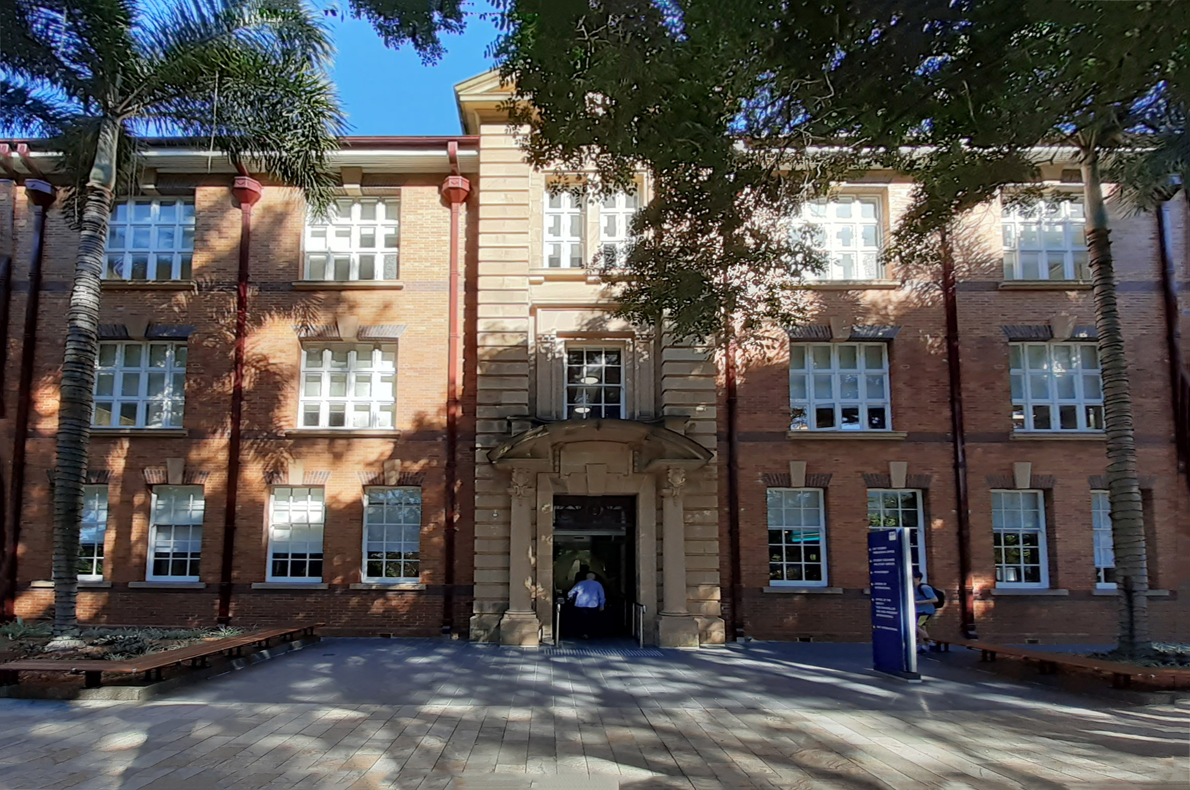"""""""A Block"""" of the Brisbane Central Technical College was one of 9 buildings constructed from 1911."""