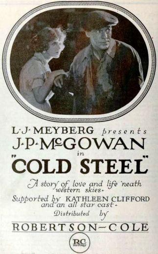 """Cold Steel"" 1921. (Wikimedia)"