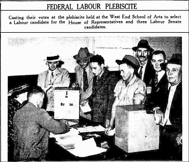 labor plebiscite 27 feb 1937 tele