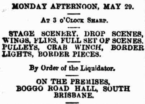 liquidator sale tele 26 may 1899