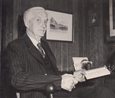 Professor Jeremiah Stable (Fryer Library University of Queensland)
