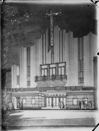 The Empire/St. James/Paris Theatre. (State Library of Queensland)