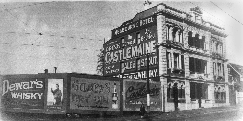 melbourne hotel west end ca 1929