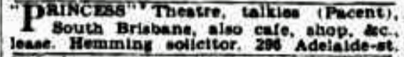 princess lease bc 22 sep 1931