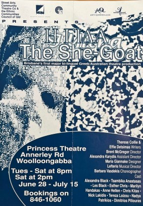 """""""The She Goat"""", Princess Theatre 1995. (State Library of Queensland)"""