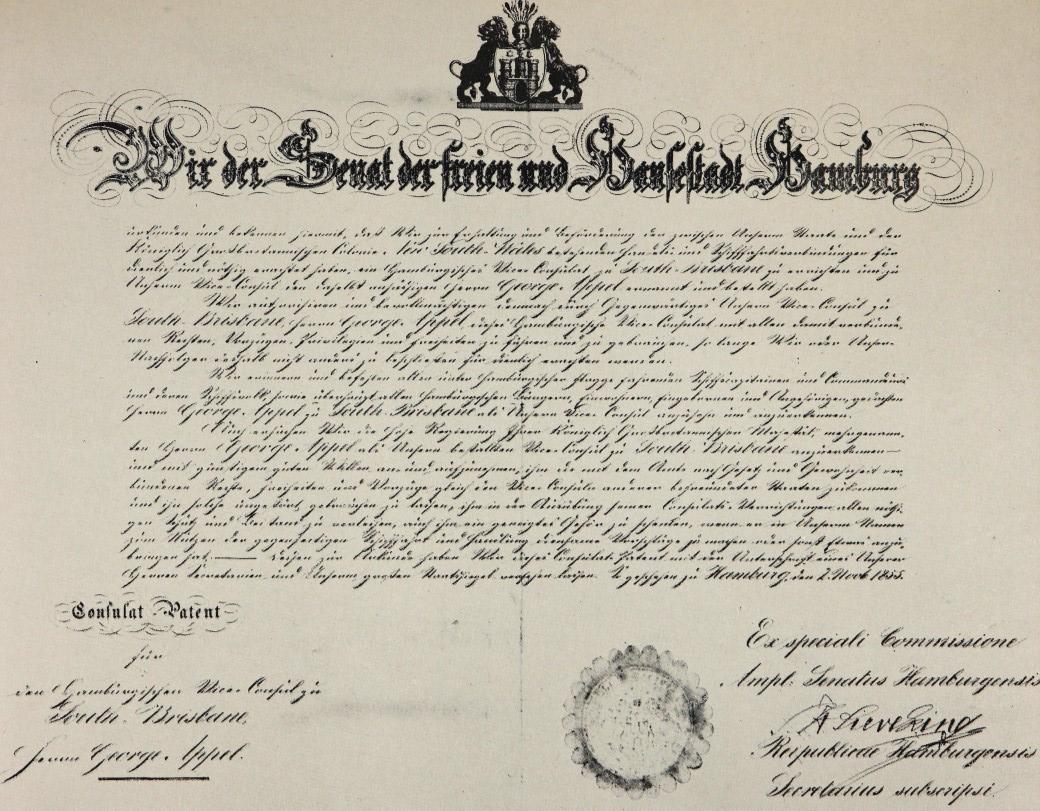appel letter patent hamburg