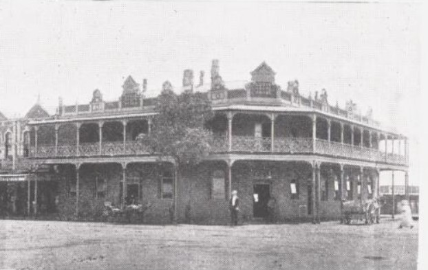 court house hotel toowoomba 1912 nla