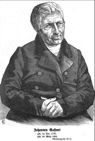 Johannes Gossner (wikimedia)