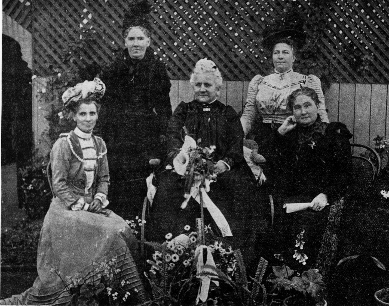 Members Womens Christian Temperance Union Brisbane 1901 slq