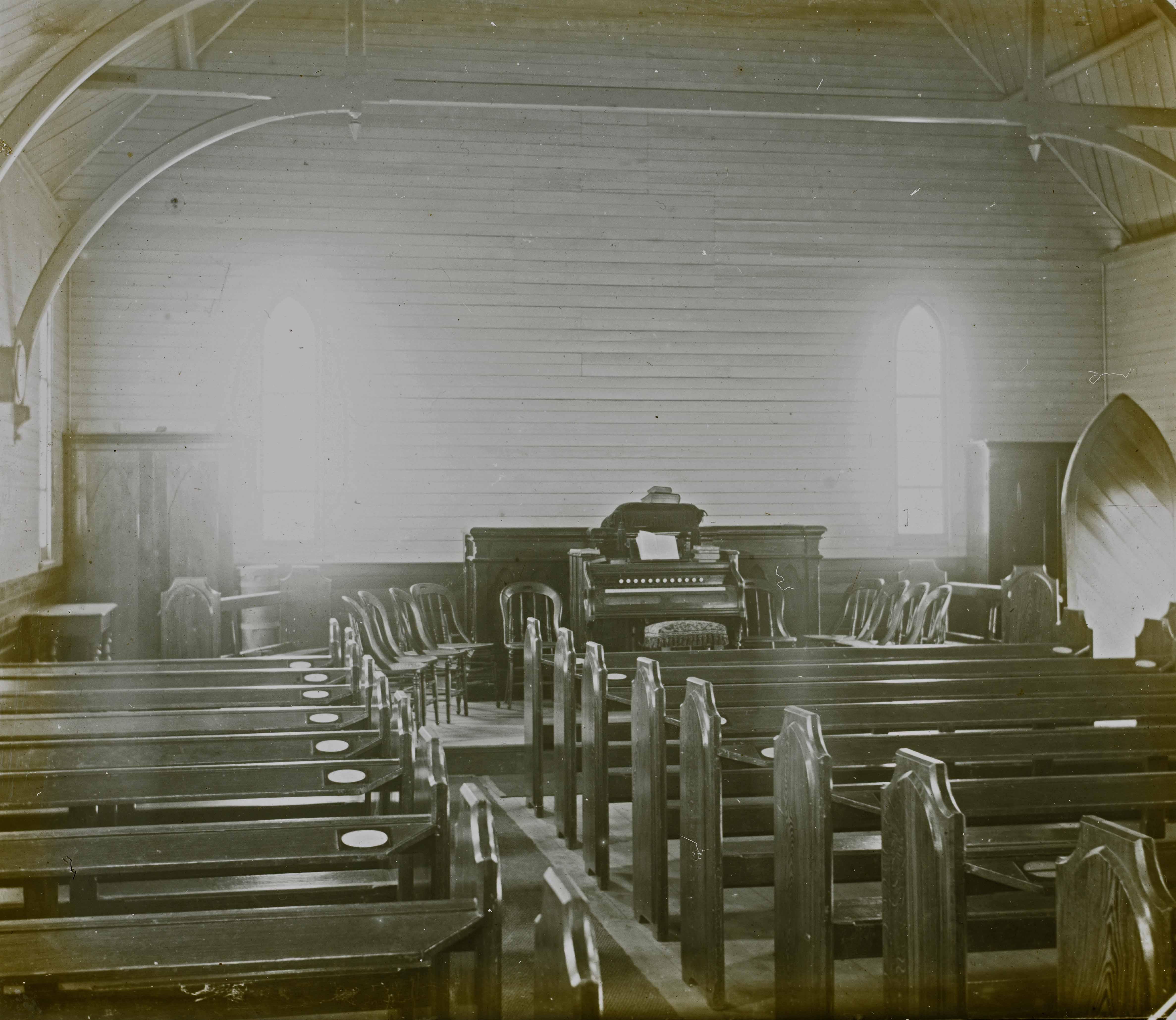interior methodist primitive church west end slq
