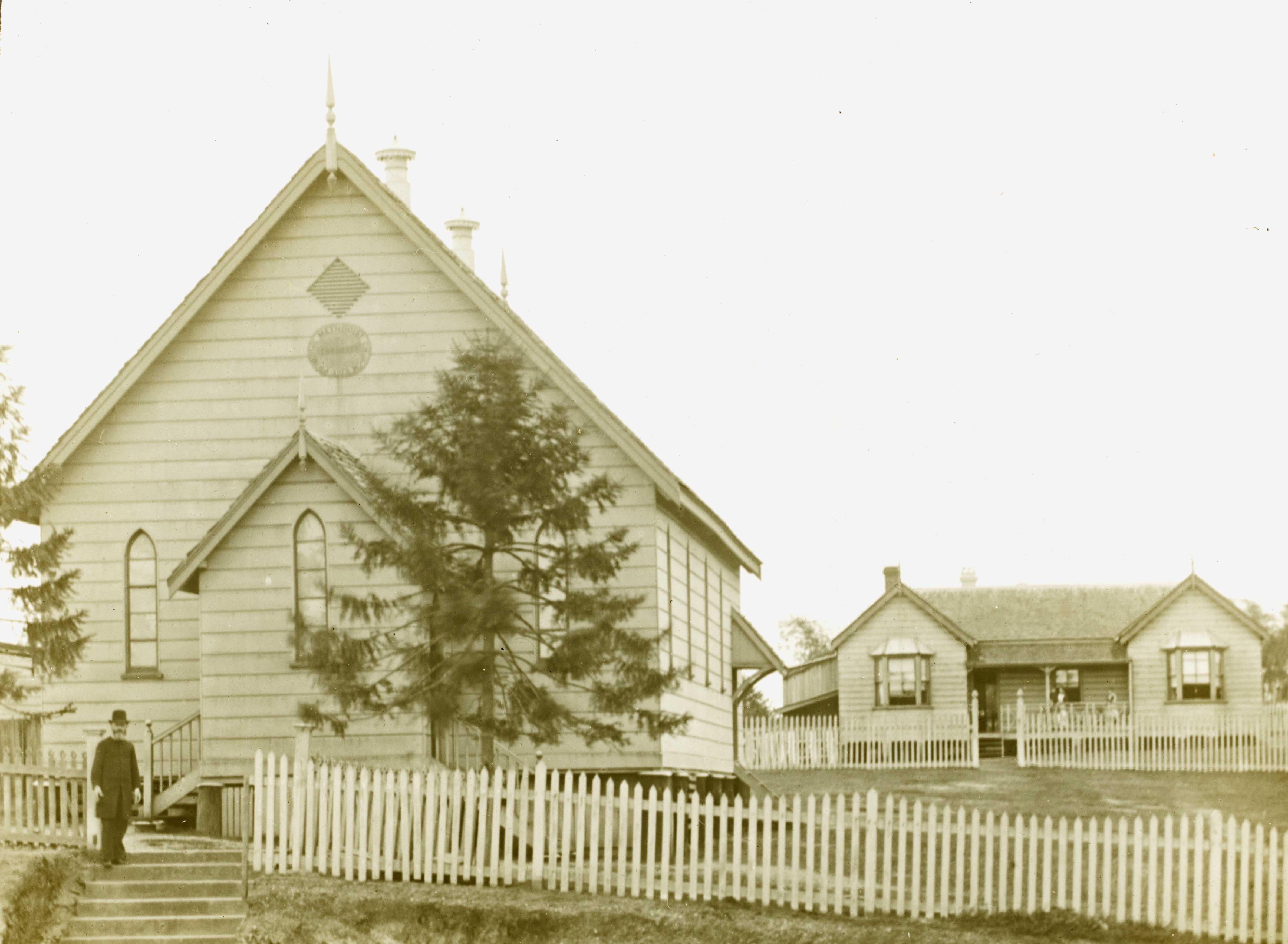 primitive methodist west end church parsonage SLQ