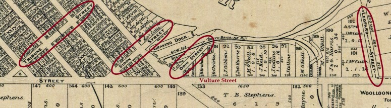 five ship streets annotated